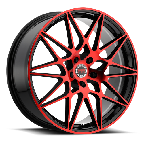 R 11 (Gloss Black / Red Machined)