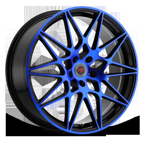 R 11 (Matte Black / Blue Machined)