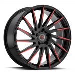 R 15 (Gloss Black / Red)
