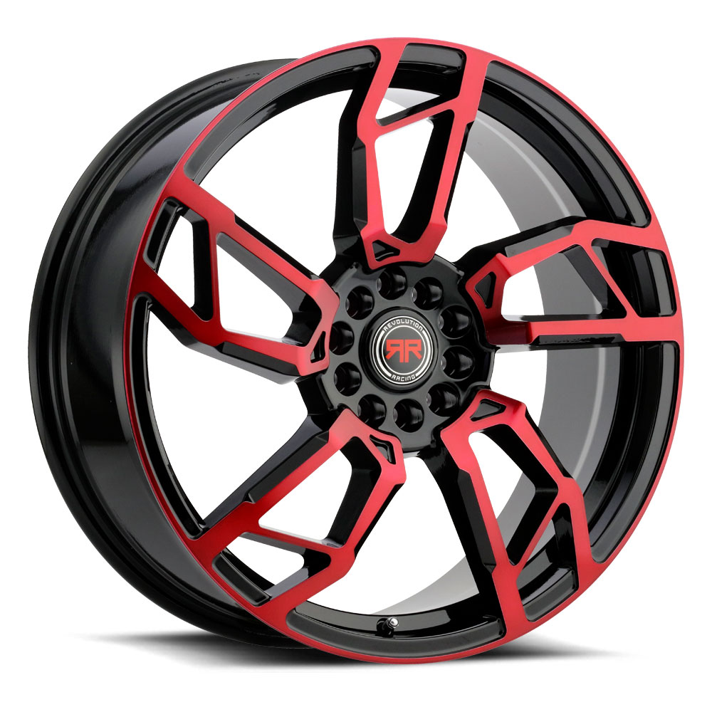 R 22 (Gloss Black / Red Machined)