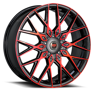 R 24 (Red / Black Machined)