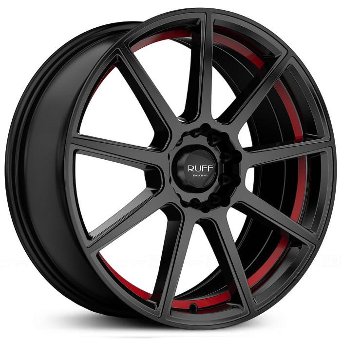 R366 (Black w / Red Pin-stripe)