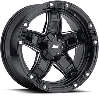 S31 (GLOSS BLACK / MILLED)
