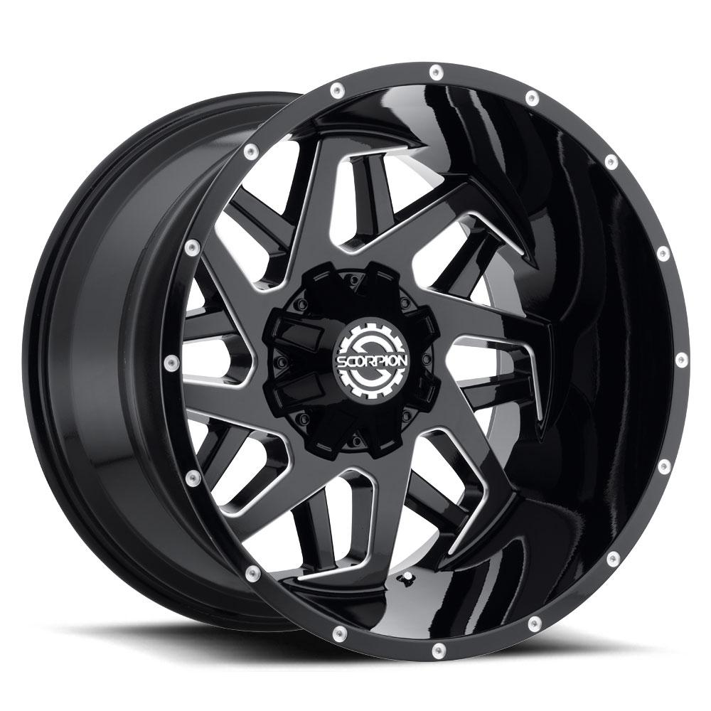 SC 24 (Gloss Black / Milled)