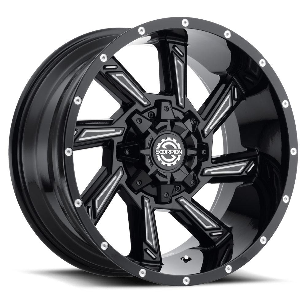 SC 25 (Gloss Black / Milled)