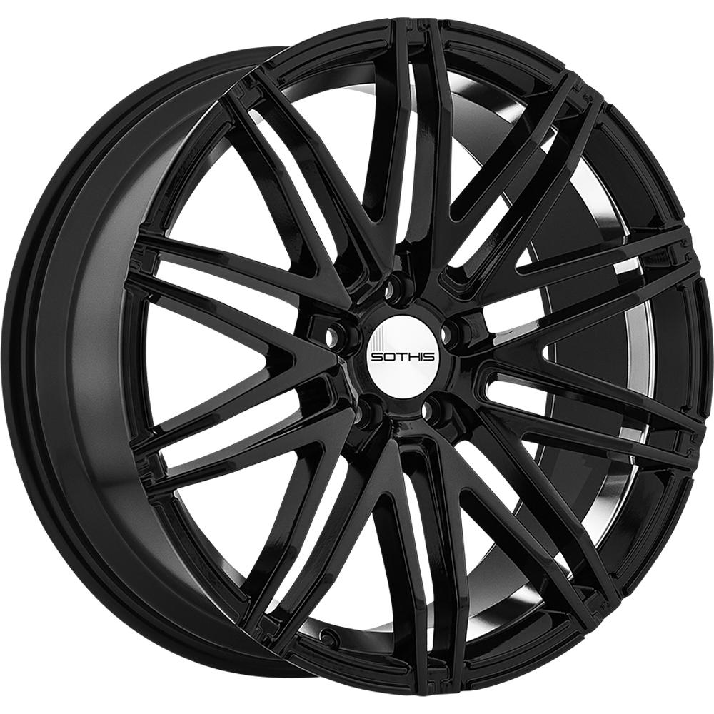 SC 102 (Gloss Black / Machined Inner)