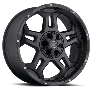 S 37 STEALTH (GLOSS BLACK / MILLED SPOTS)