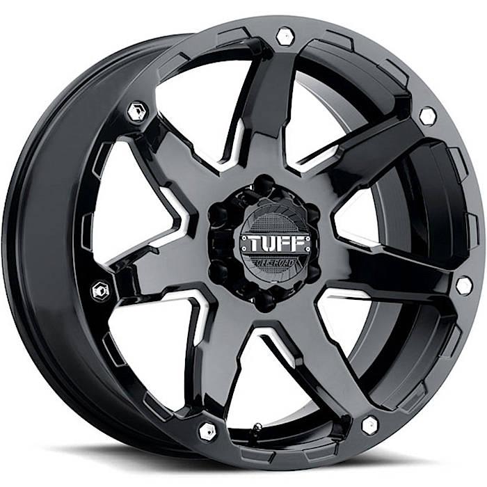 T4A (Gloss Black / Milled Spoke)