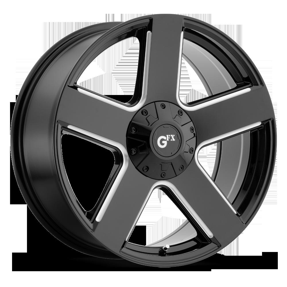 TR52 (Gloss Black / Milled)