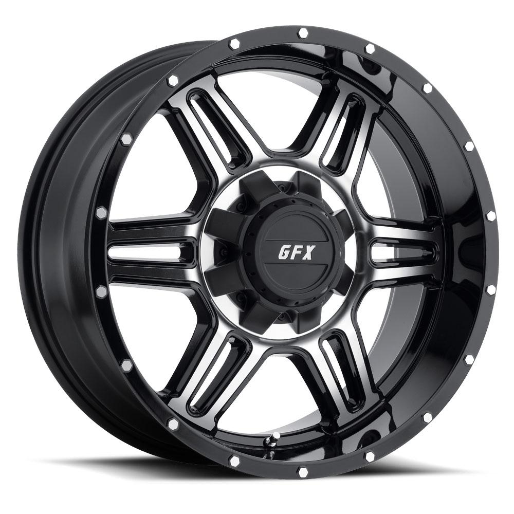 TR6 (Gloss Black / Machined)