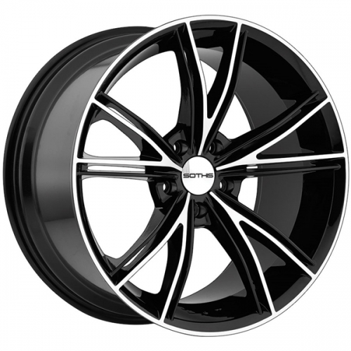 SOTHIS SC 100 (MACHINED FACE / GLOSS BLACK)